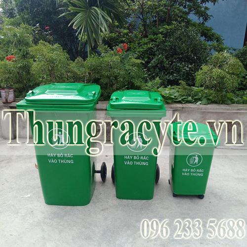 Thùng rác phân loại rác thải- Cách làm có hiệu quả ở trường PTDT Nội Trú Chợ Đồn để bảo vệ môi trường