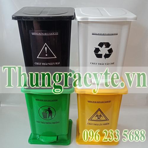 Bán thùng rác y tế đạt chuẩn quy định của Bộ Y tế