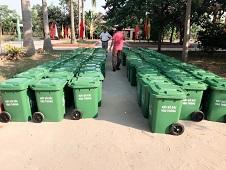 Cung cấp thùng rác xây dựng nông thôn mới ở Thuận Thành Bắc Ninh