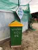 Hình ảnh Lý Sơn hôm nay không thể thiếu vắng thùng rác