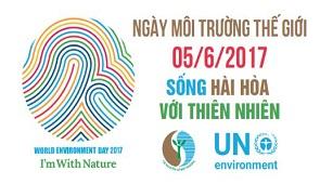 Các hoạt động hưởng ứng ngày môi trường thế giới năm 2017