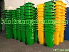 Thùng rác nhựa HPDE 120 lít