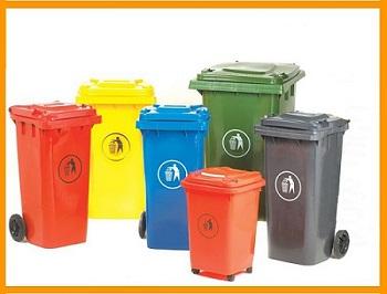 Báo giá thùng rác nhựa từ 60 lít đến 660 lít