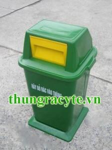 Thùng rác composite 75 lít