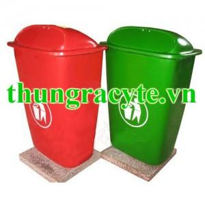 Thùng rác composite 50 lít