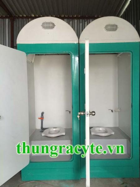 Nhà vệ sinh di động mái vòm