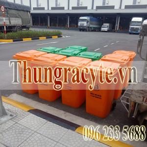 Thùng rác nông thôn mới