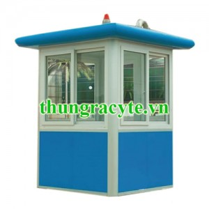 Cabin bảo vệ khung thép 1,5m x 2,0m