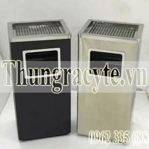 Thùng rác inox gạt tàn A34-A