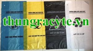 Túi nilon đựng chất thải y tế