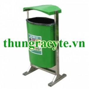 Thùng rác công nghiệp 80 lít treo đơn