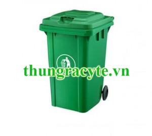 Thùng rác công cộng 80 lít