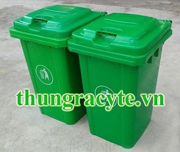 Thùng rác nhựa 80 lít