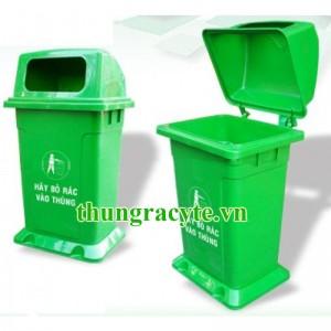 Thùng rác nhựa 95 lít