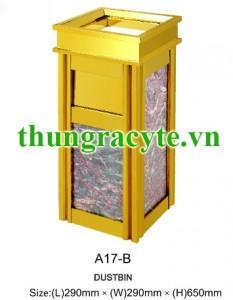Thùng rác đá hoa cương A17-B