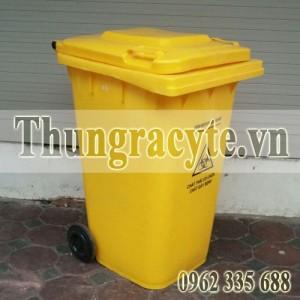Thùng rác nhựa có nắp đậy kín